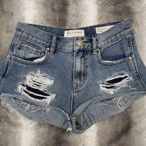 Bullhead high rise shorts